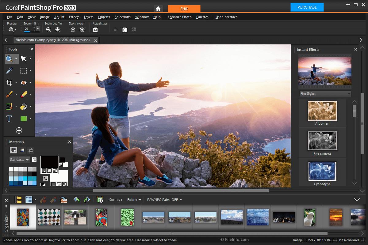 Corel PaintShop Pro képszerkesztő letöltés - kepszerkeszto.com