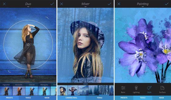 Enlight képszerkesztő app