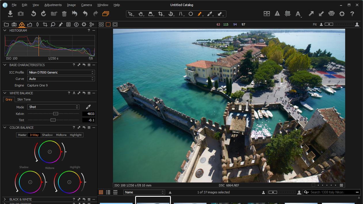 Phase One Capture One Pro képszerkesztő letöltés - kepszerkeszto.com