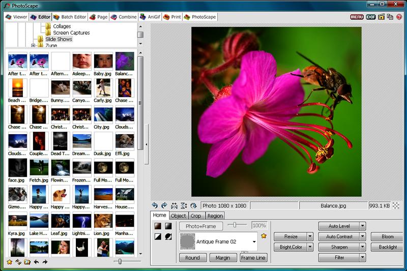 PhotoScape - A 3 legjobb windows 7 képszerkesztő program - Kepszerkeszto.com