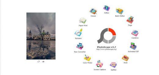 PhotoScape egy grafikus szerkesztő program