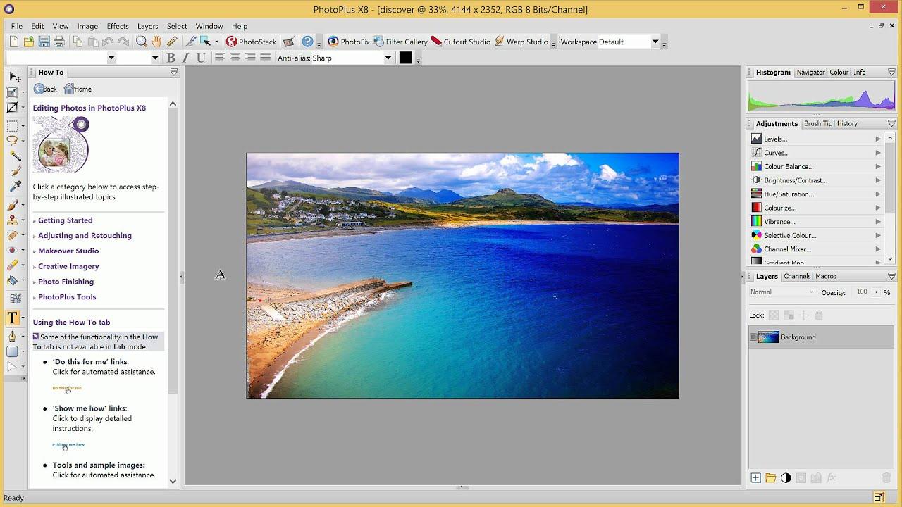 Serif PhotoPlus - A legjobb Windows képszerkesztő programok TOP15 - Kepszerkeszto.com
