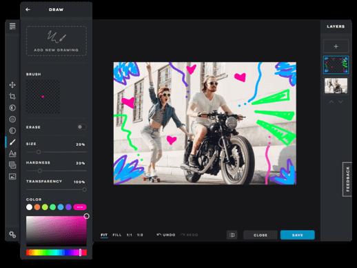 A legjobb Mac képszerkesztő programok - Pixlr