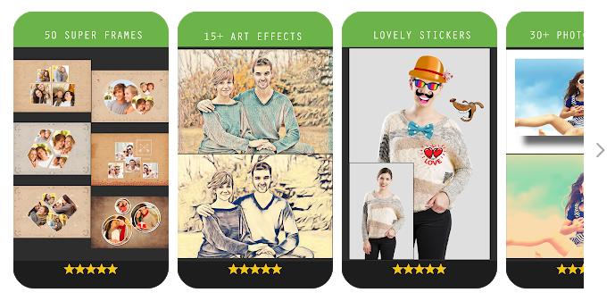 Photo Effects Pro képszerkesztő android rendszerre