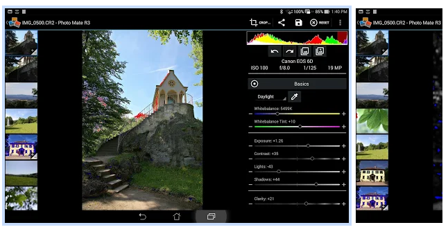 Photo Mate R3 képszerkesztő android rendszerre