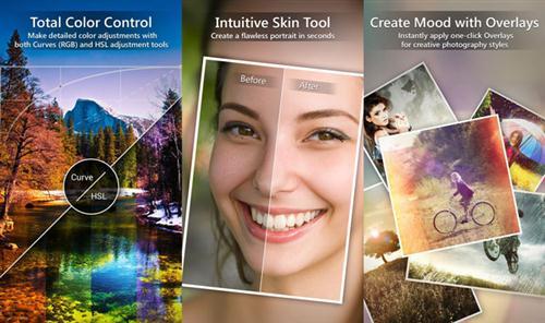 PhotoDirector Photo Editor képszerkesztő android rendszerre